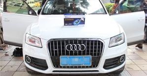 奥迪Q5安装360度全景监控系统