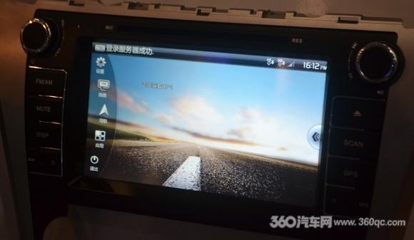 三星推出2012版凯美瑞专车专用3G互联+3D地图导航