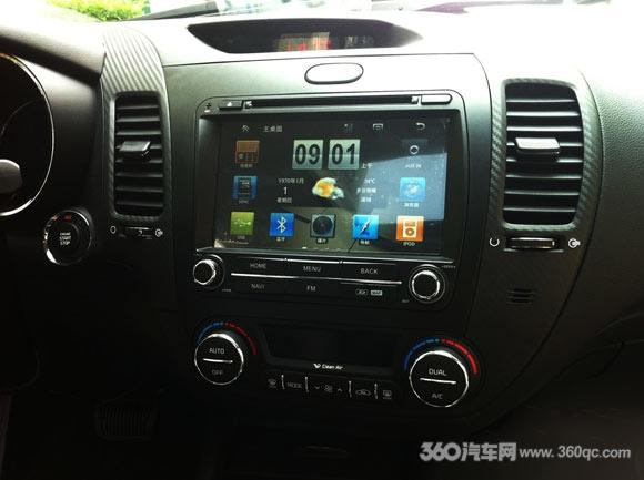 阿科达起亚K3的安卓版和WINCE版DVD导航专用机同时上市