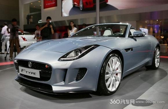 广州车展捷豹F-TYPE正式上市 内饰设计趋向概念车
