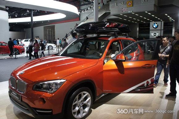 国产宝马X1广州车展国内首发 运动风内饰引改装热潮