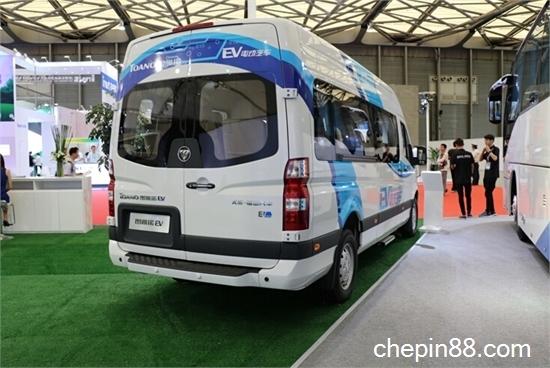 今年,福田商务汽车相继推出福田图雅诺纯电动、图雅诺国V车型、风高清图片