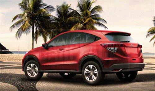 或2014年上市 本田小型SUV假想图曝光高清图片