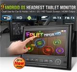 WIFI/3G上网功能安卓车载平板头枕电脑