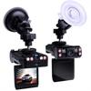 180度旋转双镜头双画面带夜视行车记录仪