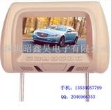 车载显示器 7寸MP5头枕包液晶显示器 靠枕显示器 倒车后视显示器