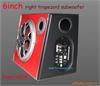 6寸 汽车低音炮 汽车音箱  梯形低音箱 低音箱