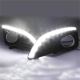 福特嘉年华专用LED日间行车灯 LED日行灯 雾灯 杠灯 转向灯