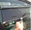 汽车遮阳帘 车用卷帘式遮阳帘自动伸缩窗帘前档隔热帘太阳帘