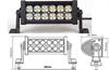 【厂家直供】36w led越野改装灯 大功率高亮度cree芯片led长条灯