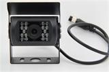 厂家直销CCD大巴红外带夜视车载倒车后视、测装汽车摄像头,24V摄像头