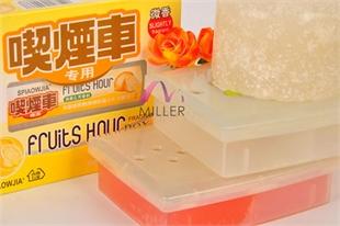 生产代加工固体清新剂香膏汽车除味膏