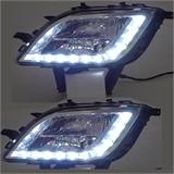 别克英朗XT专车专用LED日间行车灯雾灯改装