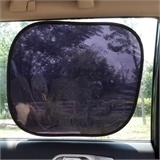 新款UV侧挡 静电自吸遮阳贴 防晒防紫外线车窗玻璃侧挡44*38