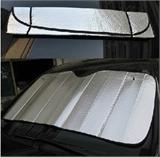 厂家直销 汽车遮阳挡 双面汽泡银太阳挡 前挡可印LOGO130*60