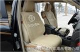 丰田普拉多酷路泽RAV4专车专用座垫座套手编四季通用冰丝汽车座垫