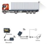 货车无线载波后视系统,车载摄像头,货车无线倒车雷达,7寸车载显示屏