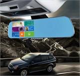 双镜头安卓5寸电容屏导航仪行车记录仪三合一测速一体机