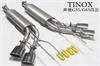 奔驰G55G65排气管改装AMG款四出四出尾段TINOX排气管小图