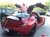 新款奔驰SLS AMG改装碳纤维4出后唇 R197碳纤维尾翼后扰流小包围