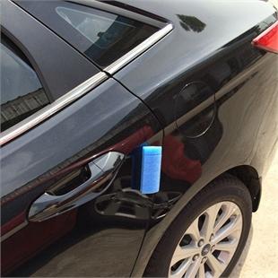 新车出厂车门边的蓝色防撞块 防撞胶 门边胶 门边贴 防撞条