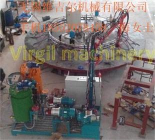 厂家直供双组份聚氨酯汽车内饰高压发泡机GY-WJE-07