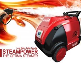 韩国进口OPTIMA蒸汽洗车机,双管双枪,移动上门洗车