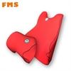 FMS汽车用品腰垫头枕套装车用记忆棉按摩腰靠 车靠用品批发