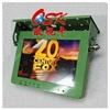 欧视卡品牌10.1寸前折吸顶车载显示器 高清工控屏 宽电压 军绿色