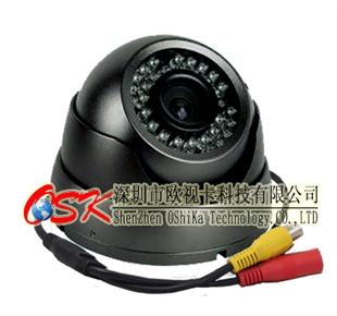 欧视卡LX-301 海螺镜头 车载摄像头 小区监控头6.0MM 航空头接口