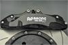 宝马车系改装案例AP9660六活塞刹车卡钳套装 汽车刹车改装制动升级