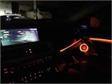 宝马5系3色9模式氛围灯 宝马原厂协议LED灯 宝马原车控制3色氛围灯