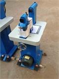 刹车片冲铆一体机 卧式电动液压蹄片投铆机220V工作台更直观更易操作